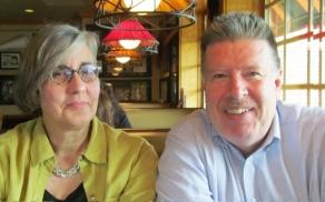 Advertising Director, Kathy Velis Turan, and Circulation Director, Peter Walsh